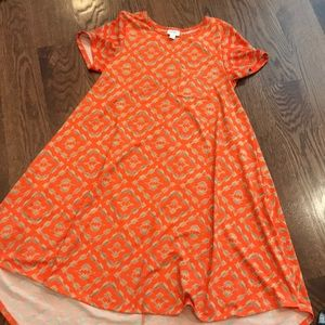 LuLaRoe Carly dress. Excellent condition